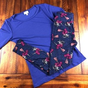 New LulaRoe Witches Leggings OS